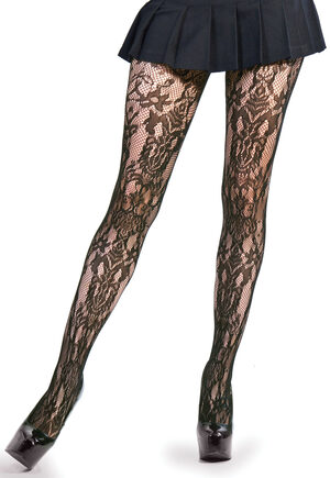 Victorian Lace Pantyhose