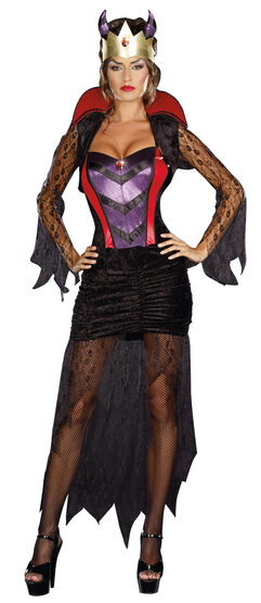 Sexy Wicked Queen Villain Costume