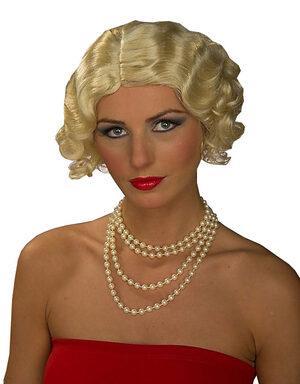 Blonde 1920s Flapper Wig