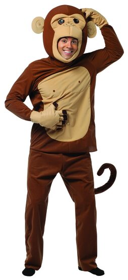 Mens Monkey Around Funny Adult Costume