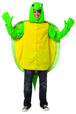 Mens Terrific Turtle Funny Animal Adult Costume