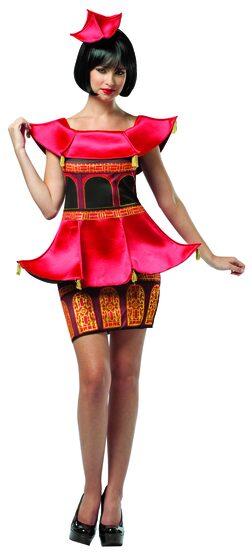 Sexy Pagoda Dress Asian Costume