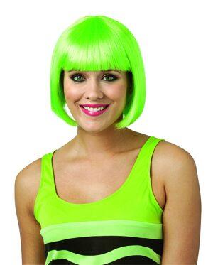 Green Crayola Bob Wig