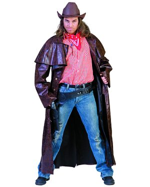 Duster Dan Cowboy Coat Adult Costume