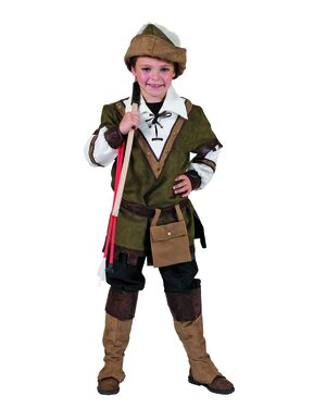 Sherwood Forest Robin Hood Kids Costume