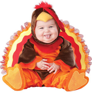 Infant Lil Gobbler Turkey Baby Costume