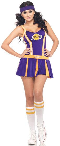 Sexy Los Angeles Lakers Cheerleader Costume