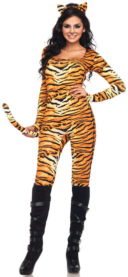 Sexy Stripe Me Wild Tigress Costume
