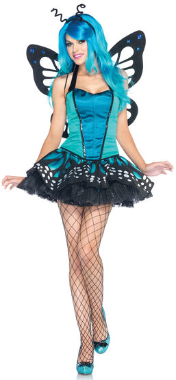 Sexy Womens Swallowtail Butterfly Costume