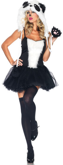 Sexy Playful Panda Animal Costume