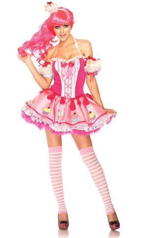 Miss Babycake Cupcake Princess Adult Costume