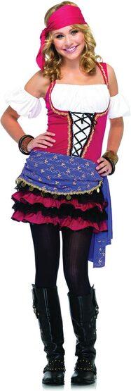 Teen Crystal Ball Gypsy Costume