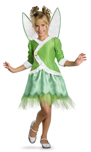 Deluxe Tinkerbell Secret of the Wings Kids Costume