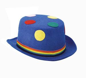 Blue Polka Dot Derby Hat