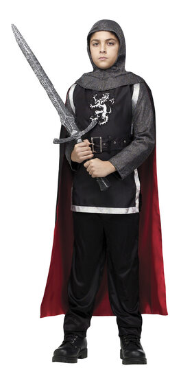 Boys Medieval Knight Kids Costume