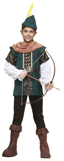 Boys Archer Robin Hood Kids Costume