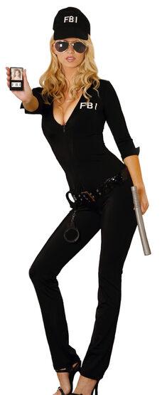 Sexy FBI Agent Cop Costume