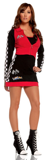 Sexy High Speed Hottie Race Car Driver Costume