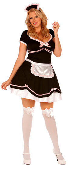 French Chamber Maid Plus Size Costume