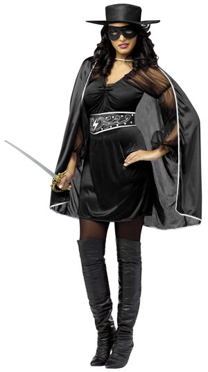 Masked Madam Zorro Adult Costume