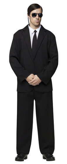 Black Suit Gangster Adult Costume