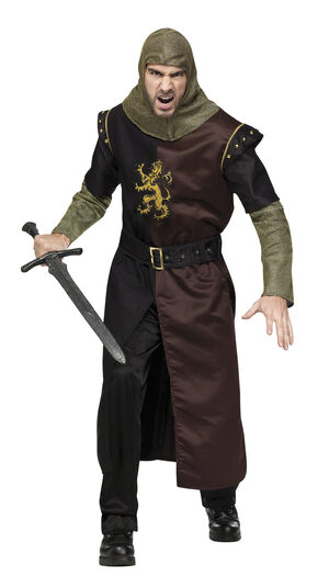 Medieval Valiant Knight Adult Costume