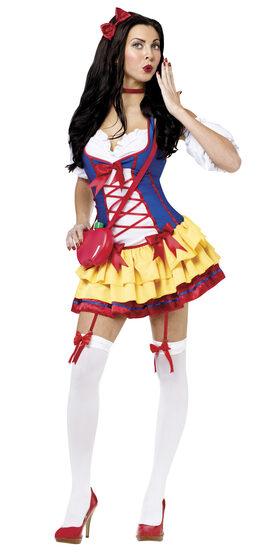 Sexy One Bad Apple Snow White Costume