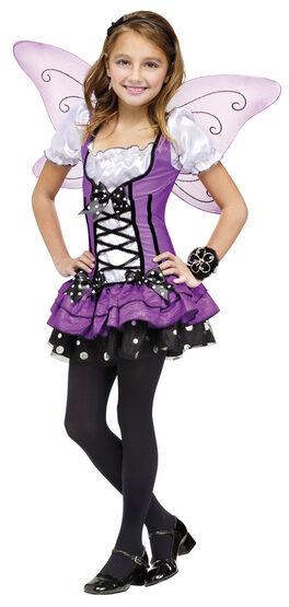 Girls Lilac Fairy Kids Costume