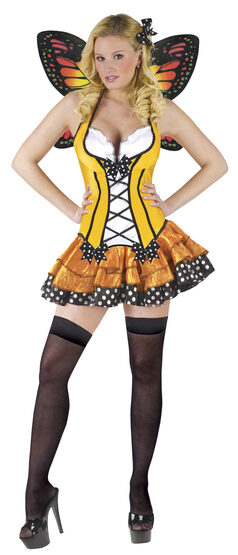 Teen Butterfly Queen Adult Costume