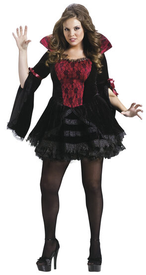 Midnight Mistress Vampire Adult Costume