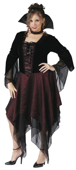 Lady Dracula Vampire Plus Size Costume