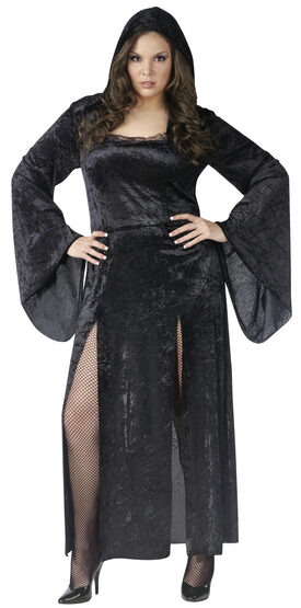 Sultry Sorceress Witch Plus Size Costume
