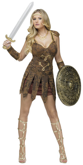 Sexy Roman Gladiator Beauty Costume