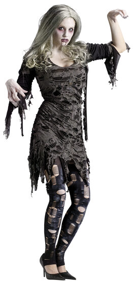 Womens Living Dead Zombie Adult Costume