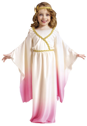 Girls Greek Goddess Athena Kids Costume
