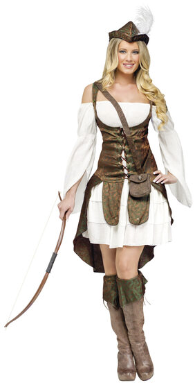 Forest Flirt Robin Hood Adult Costume