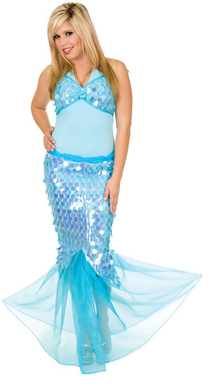 Sexy Blue Lagoon Mermaid Costume