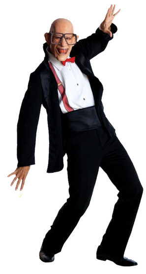 Six Flags Mr Six Adult Costume