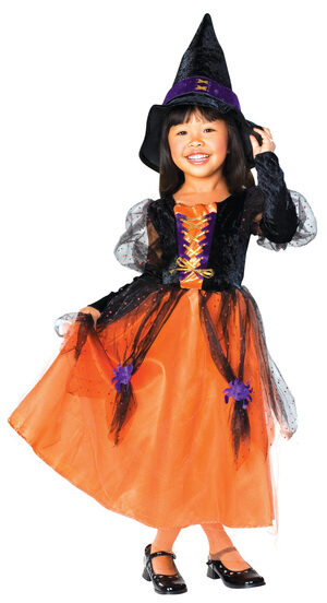 Pretty Witch Kids Costume