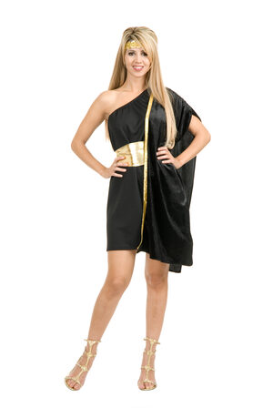 Sexy Dark Side Greek Toga Costume