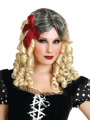 Crazy Doll Blonde Curl Wig