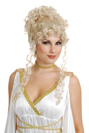 Athena Goddess Greek Wig