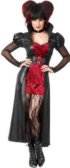 Sexy Vampiress Queen Costume