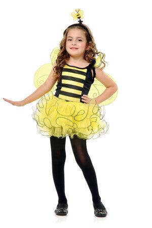 Girls Sweet Bumble Bee Kids Costume