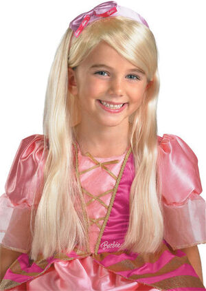 Barbie Long Blonde Kids Wig