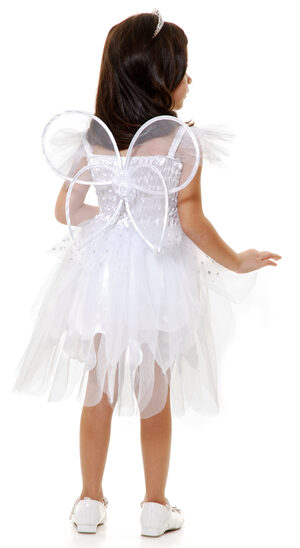 Girls Angel Fairy Kids Costume
