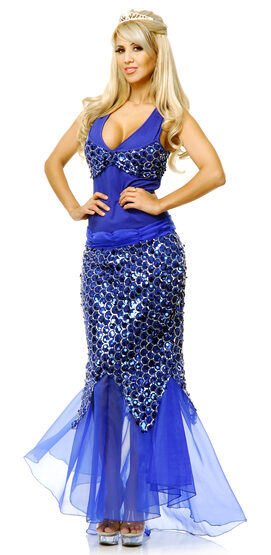 Sexy Womens Mermaid Dress Costume