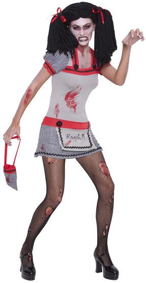 Evil Zombie Ragdoll Adult Costume
