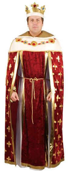 Mens Royal King Robe Adult Costume