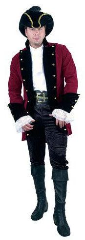 Mens Velvet Pirate Prince Adult Costume